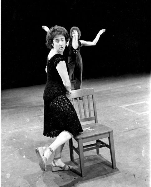 Sm YesterdayLiz Lerman knee on chair female dancer behind