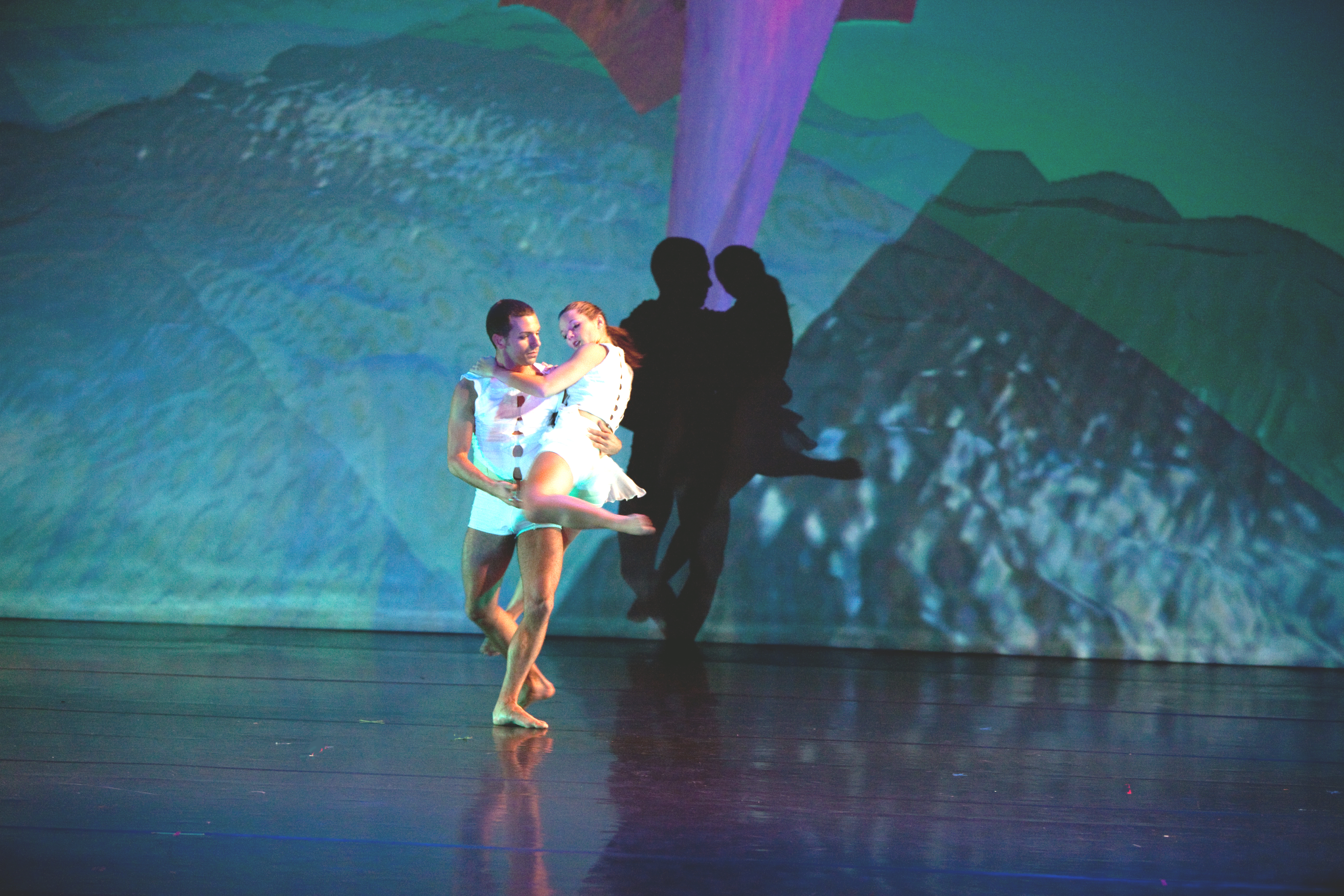 """GW's Department of Theatre and Dance Presents """"Spring DanceWorks,"""" April 15-17 Production Features Internationally Acclaimed Guest Artists, Faculty and Student Choreographers"""