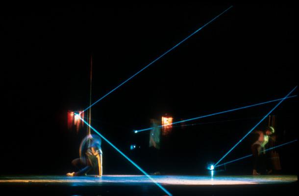 Sm LaserPrevidancer on floor onhand in laser - slide