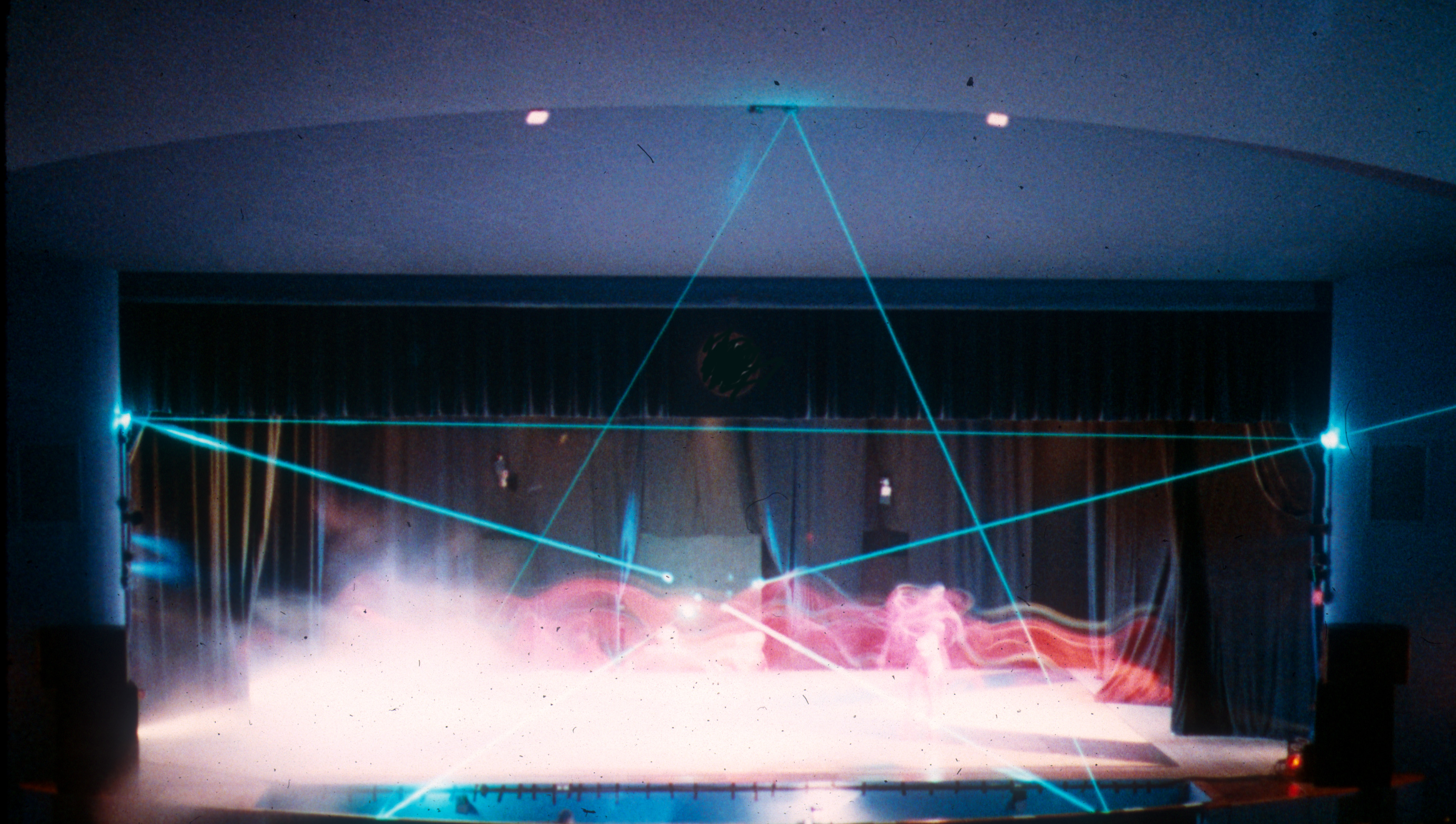 Star laser with fog